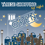 Varese Shopping by night